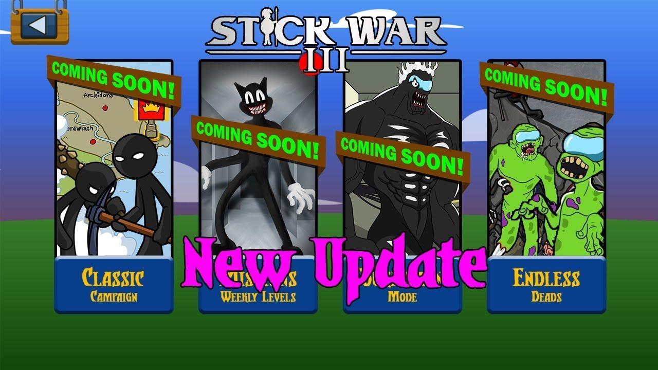 Download New Update Stick War Legacy III - New Final Boss CARTOON CATS