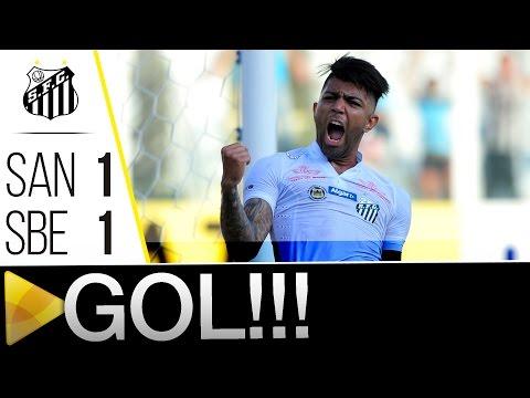 Santos 1 x 1 São Bernardo | GOL | Paulistão (30/01/16)