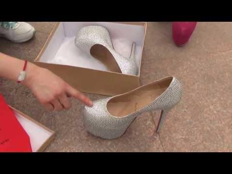 Великолепные туфли на высоких каблуках!  Класс.