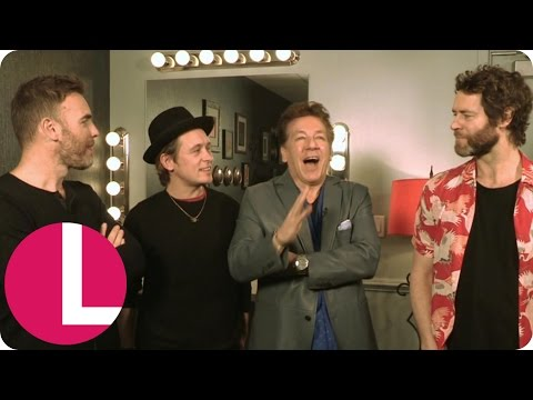 Take That Talk Carpool Karaoke and Gary Barlow Confirms He's in Star Wars! | Lorraine