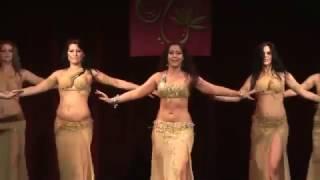 رقص شرقي أوروبي يبدعون على رائعة أم كلثوم بعيد عنك