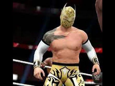 WWE 2K16 Project - Sin Cara Caw formula svr 2011 ps2 - YouTube