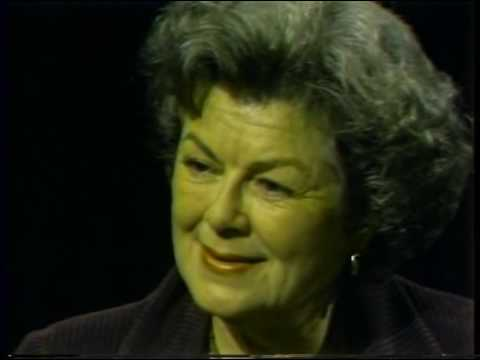 Barbara Hale, Jeffrey Lynn--Rare 1985 TV Interview, Perry Mason