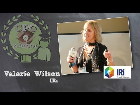 Valerie Wilson - IRi - CPG School, 4/8/15