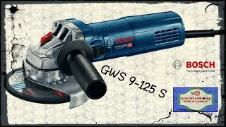 ESMERILHADEIRA ANGULAR GWS 9-125 S- BOSCH