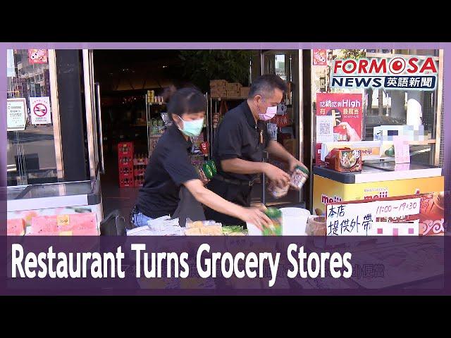 Hotpot restaurant turns into mini supermarket in wake of Level 3 alert restrictions