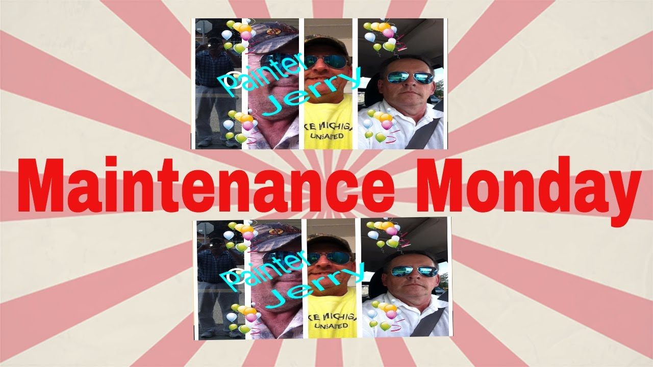 Maintenance Monday : How to Paint without streaks, runs and roller lines