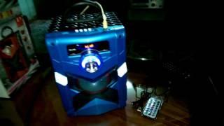 Video DEMO Loa Mini Karaoke Bluetooth