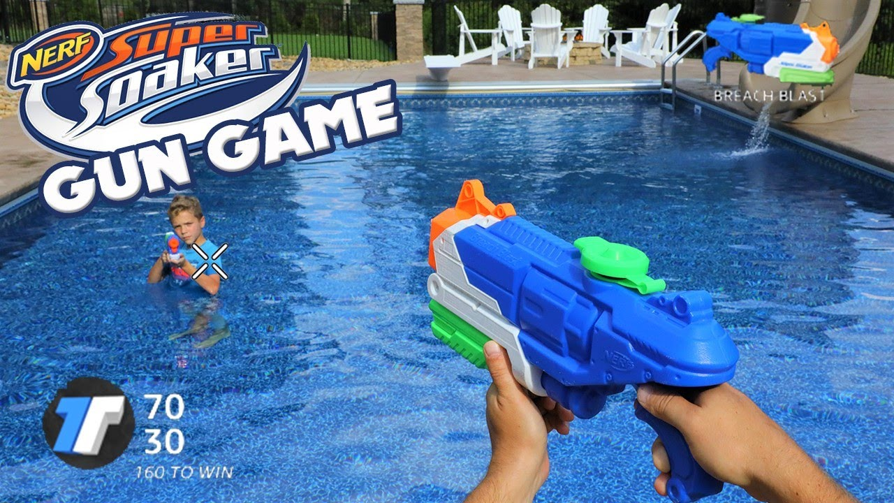 Nerf Gun Game Super Soaker Edition (First Person Shooter)