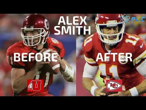 Alex Smith from College to NFL - Throwing Mechanics