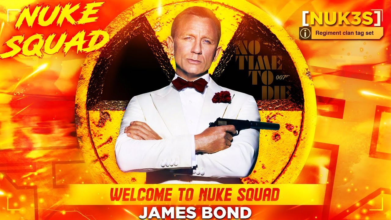 Welcome to Nuke Squad Daniel Craig! ☢ (James Bond LOADOUT)