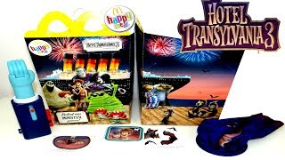 Hotel Transylvania 3 Monstruos de vacaciones Unas vacaciones monstruosas cajita feliz de MDonalds