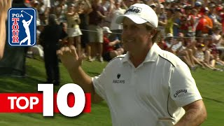Top-10 all-time shots from Charles Schwab Challenge