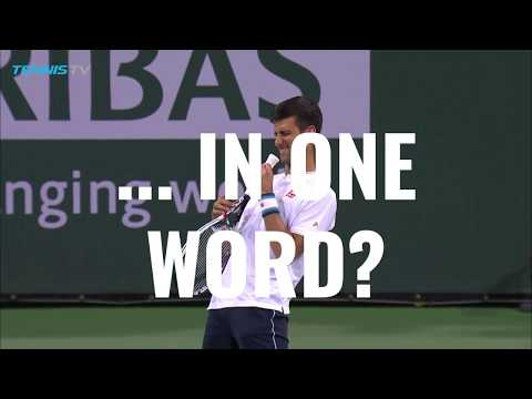 Tennis Channel Decade In Review Atp Player Of The Decade Novak Djokovic Youtube