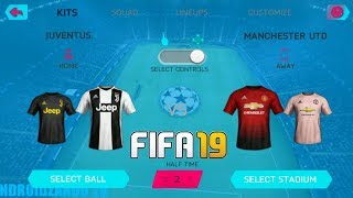 FIFA 19 MOD FIFA 14 Android Offline 1GB UCL Edition New Face Kits & Transfers Update Best Graphics