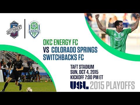 2015 USL Playoffs - OKC Energy FC vs Colorado Springs Switchbacks FC