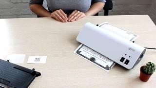 видеоинструкция Как пользоваться ламинатором United Office