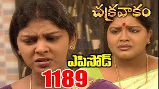 Episode 1189 | Chakravakam Telugu Daily Serial | Srikanth Entertainments | Loud Speaker