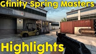 CS:GO - Gfinity Spring Masters Highlights (clean 1080p 60fps)