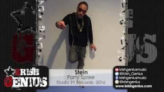 Stein - Party Spree - July 2016