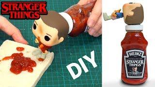 Cómo Hacer Stranger Things Ketchup Heinz Edición Limitada DIY en español