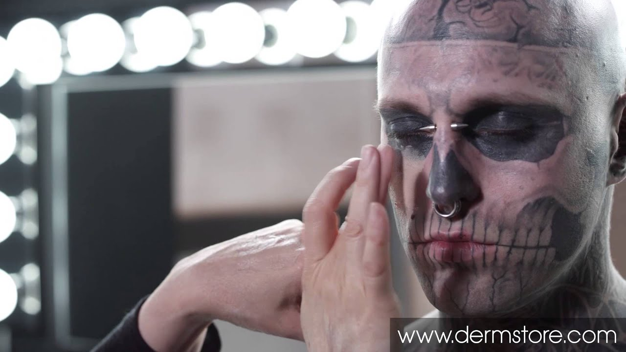 Dermablend Professional Tattoo Cover Up - YouTube