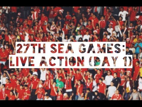 27th SEA Games: Daily action (Day 1)