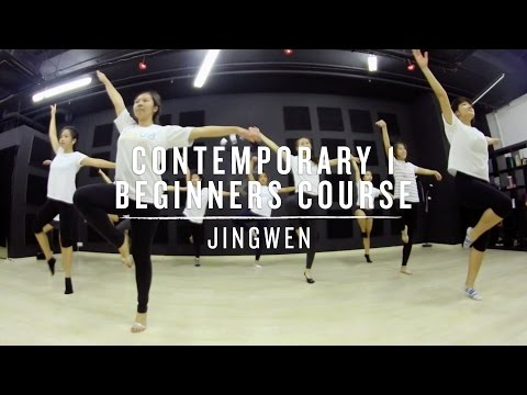 Contemporary (Level 1) Beginners Course (22-Mar-16) | Jingwen