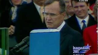 President George H. W. Bush 1989 Inaugural Address