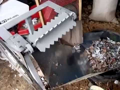 Paper shredder 4 blade