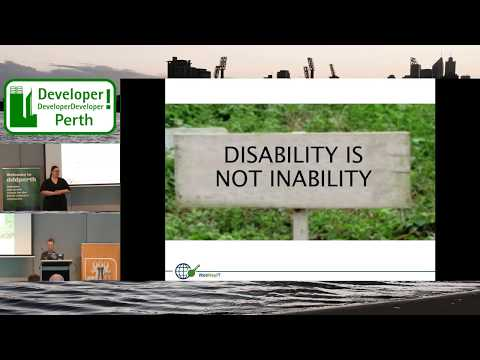 Web Accessibility: Responsibilities, Laws And Policies - Dr Vivienne Conway - DDD Perth 2017