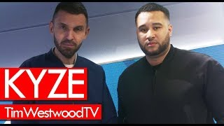 Kyze on Marathon, time away when Giggs blew up, En Route, bottle challenge - Westwood