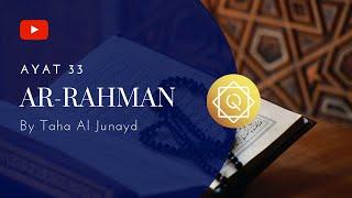Qs 5533 Surah 55 Ayat 33 Qs Ar Rahmaan Tafsir Alquran