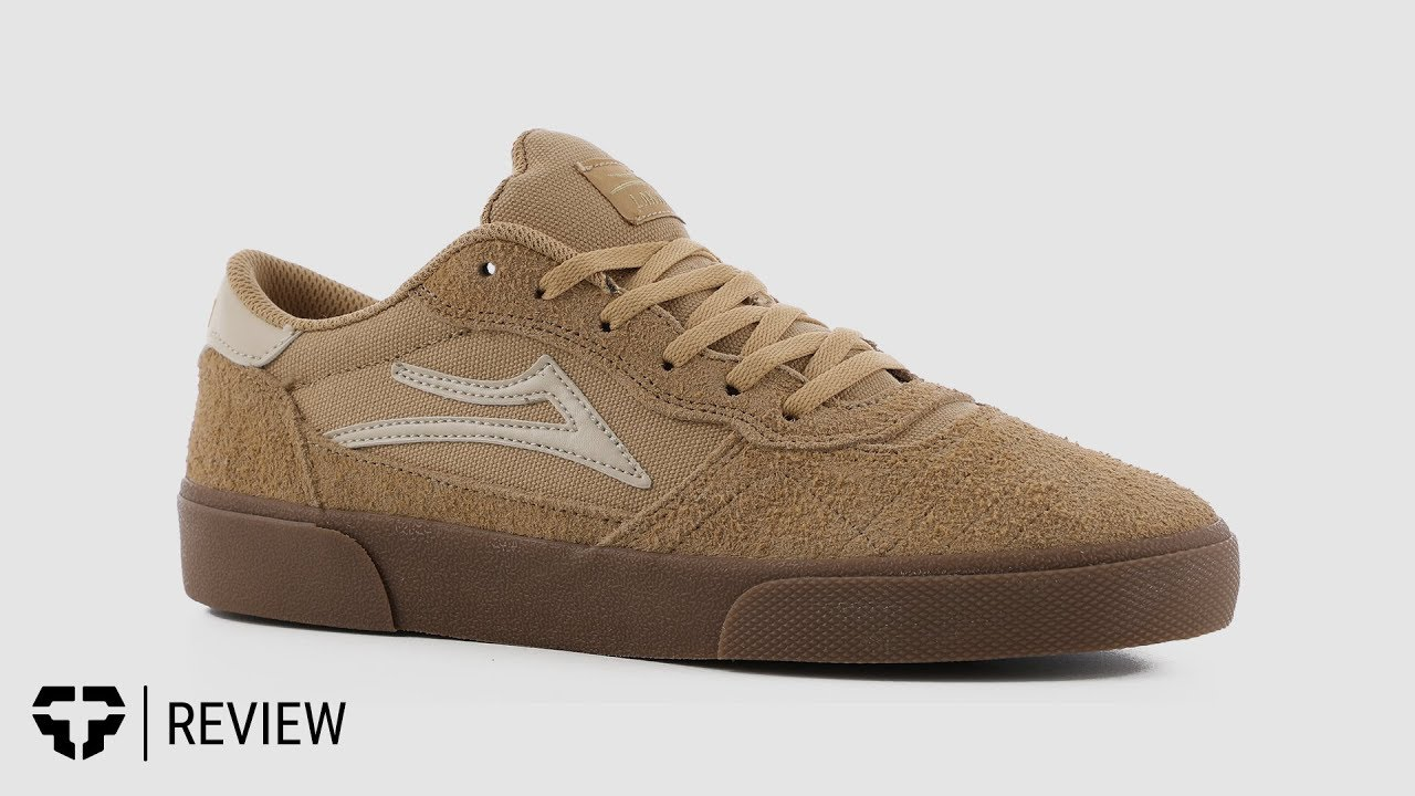 Lakai Cambridge Skate Shoes - white
