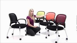 Stackable Guest/Meeting Chair on Casters