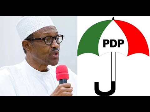 PDP rebukes Buhari as the president says the regime has  been successful