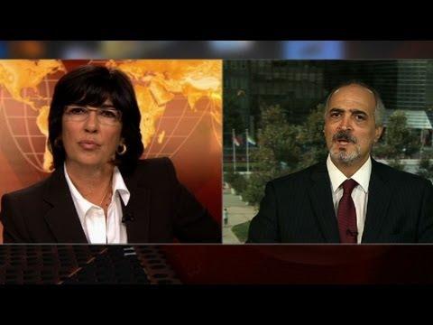 Christiane Amanpour to Syria diplomat: Nobody believes you