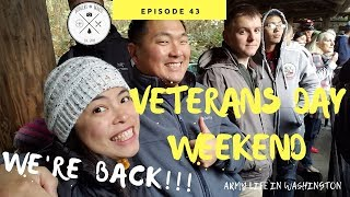WE'RE BACK!!! VETERANS DAY 2018 [Doug&Marie's Life S4E43] Army Wife Life