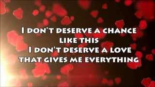 Don't Deserve You - Plumb - Lyrics