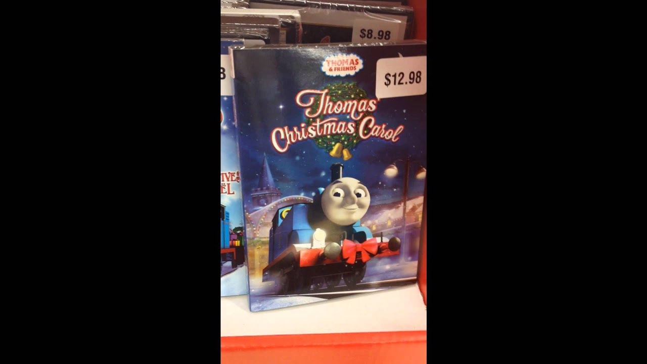thomas christmas dvds