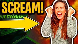 This Roblox Game Made Her SCREAM...