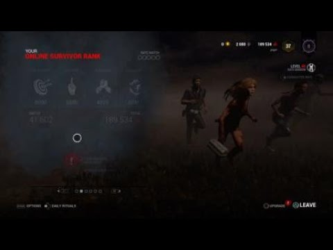 Dead by Daylight crazy hatch escape