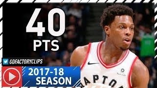 Kyle Lowry Full Highlights vs Timberwolves (2018.01.20) - 40 Pts
