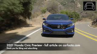 Preview: What to expect from the 2021 Honda Civic