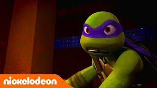 Черепашки-ниндзя | Драка с роботом | Nickelodeon Россия
