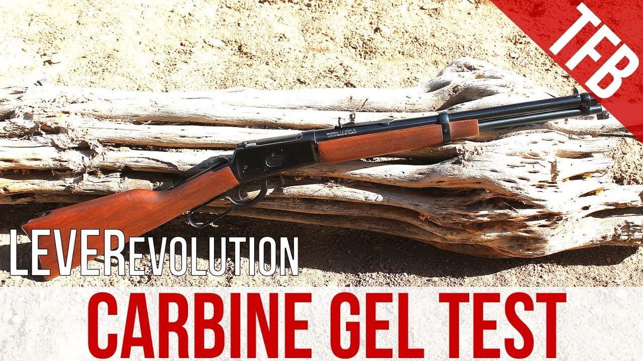 The Little Lever That Could: Hornady  357mag 140gr FTX Leverevolution  carbine gel test