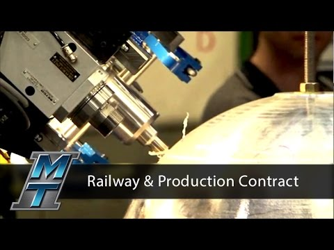 Friction Stir Welder for Railway and Production Contract Welding Environments