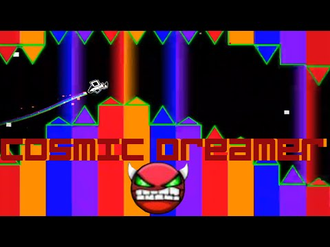 Geometry Dash Super Easy Demon - Cosmic Dreamer - CDLAwesomeME