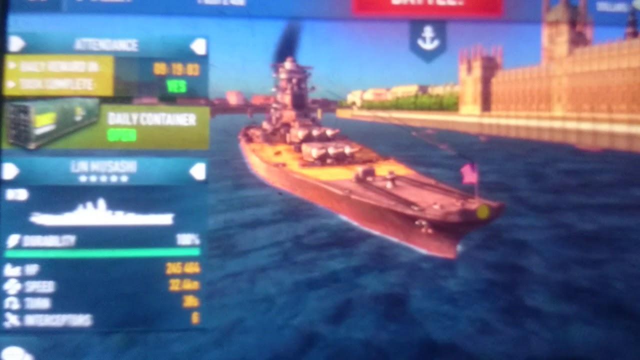 Battle of warships all ships unlocked