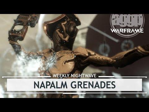 Warframe: Napalm Grenades & Saturn Six Scene [weeklynightwave] thumbnail